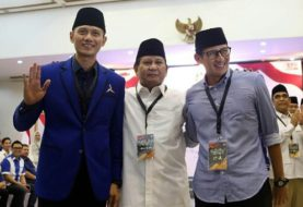 AHY Ditunjuk Sebagai Juru Kampanye Nasional Koalisi Prabowo-Sandi