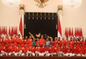 Jokowi sampaikan keinginan jadi tuan rumah Olimpiade ke atlet Asian Games